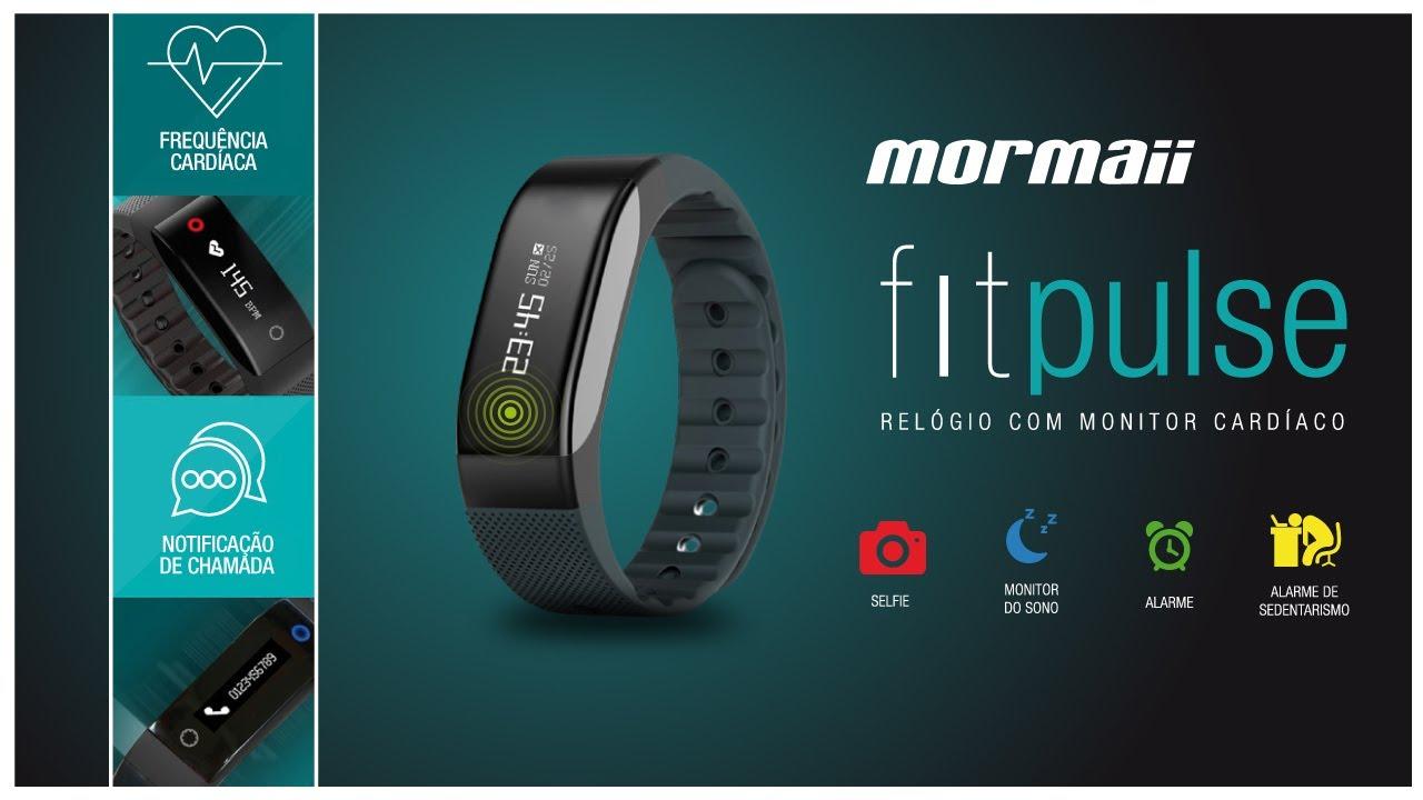 Mormaii Fitpulse, o relógio que acompanha sua evolução - YouTube d4f89afd84