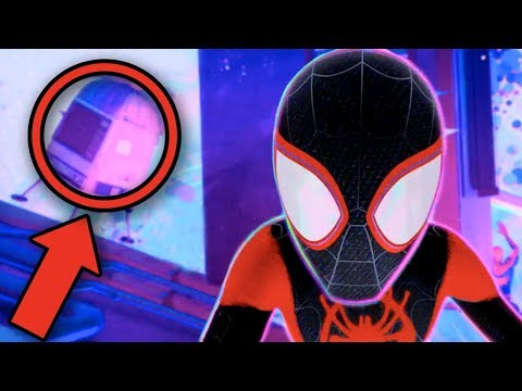 SPIDERMAN INTO THE SPIDERVERSE New Easter Eggs You Missed! (All Stan Lee Cameos!)
