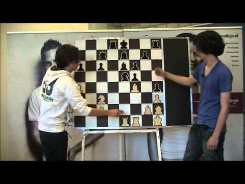 NK Jeugd 2011_dag 1 - Chessconferentie Hugo ten Hertog en Nico Zwirs
