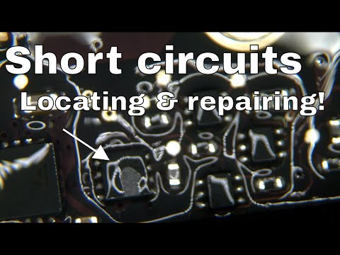 How to find short circuit component without spending $6k on FLIR cam.