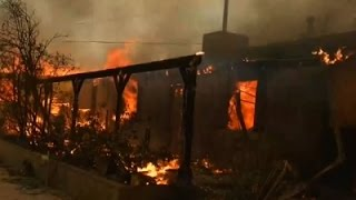 Thousands Told to Flee Southern California Fire