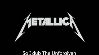 "Metallica - ""The Unforgiven"" Lyrics (HD)"