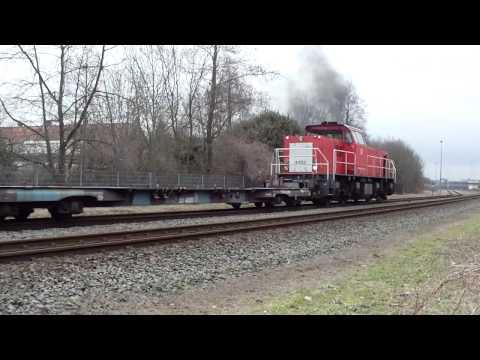 Shunting Job DB Schenker Rail Class6400 part 2