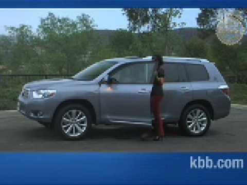 2009 Toyota Highlander Hybrid Review   Kelley Blue Book   YouTube