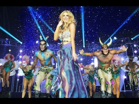 Delta Goodrem - Mardi Gras Megamix (OFFICIAL LIVE AUDIO) HD