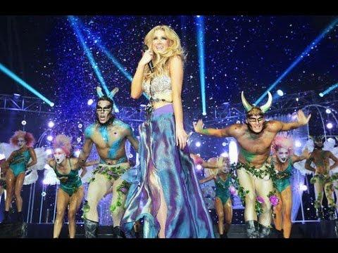 Delta Goodrem - Mardi Gras Megamix (OFFICIAL LIVE AUDIO!!!) HD