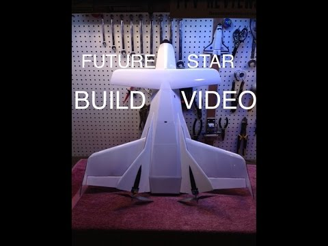 FUTURE STAR Rocket Plane Build Reference Video