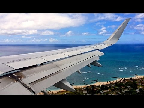 American Airlines – Airbus A321-231 – LAX-HNL – Takeoff and Landing – Inflight Series Ep. 68