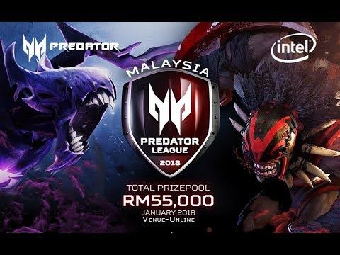 New Beginning vs Team highground Predator League Malaysian Qualifier 2018 Dota 2 Highlights