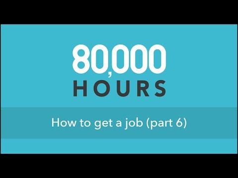 How to get a job (part 6) @ Cambridge University
