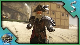 TROLLING SOME PIRATES & STEALING GEAR! - Atlas [Pirate Survival Gameplay E3]