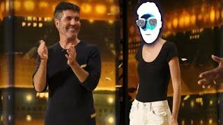 Golden Buzzer: Nightbirde's Original Song Makes Simon Cowell Emotional | America's Got Talent 2021