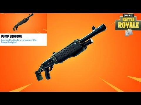Fortnite New Legendary Pump Shotgun Update Countdown + Gameplay! (Fortnite New Update)