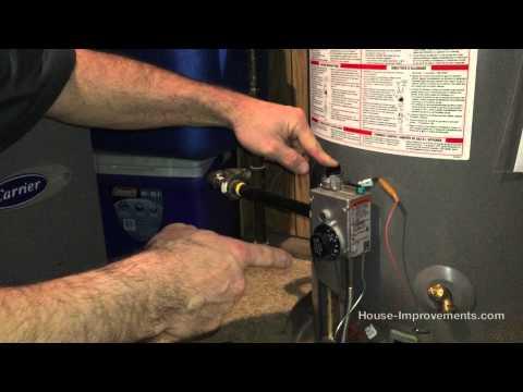 How To Light A Gas Water Heater Pilot Light