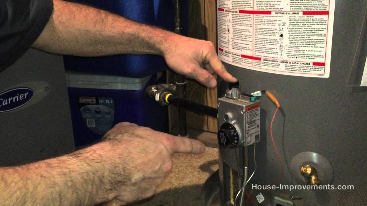 How To Light A Gas Water Heater Pilot Light Ideas