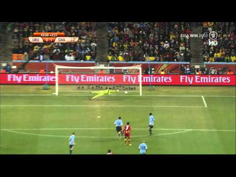 Sulley Muntari Goal (Ghana - Uruguay) World Cup 2010