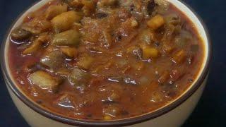 ഇറചച കറയട രചയൽ  കൺ  കറ (Mushroom curry)