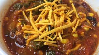 Vegan Superbowl Crockpot Chili Recipe