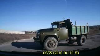 ДТП Севастополь, Крым, пешеходы отрываются и жгут....