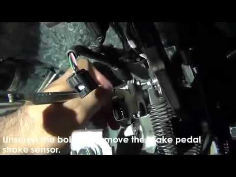 2006 Toyota Tundra >> 15 Remove Brake Pedal Stroke Sensor - YouTube