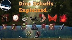 Dino Debuff Status Effects Ark Survival Evolved Explained