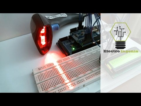 Arduino projects + Bar Code Scanner + USB Shield
