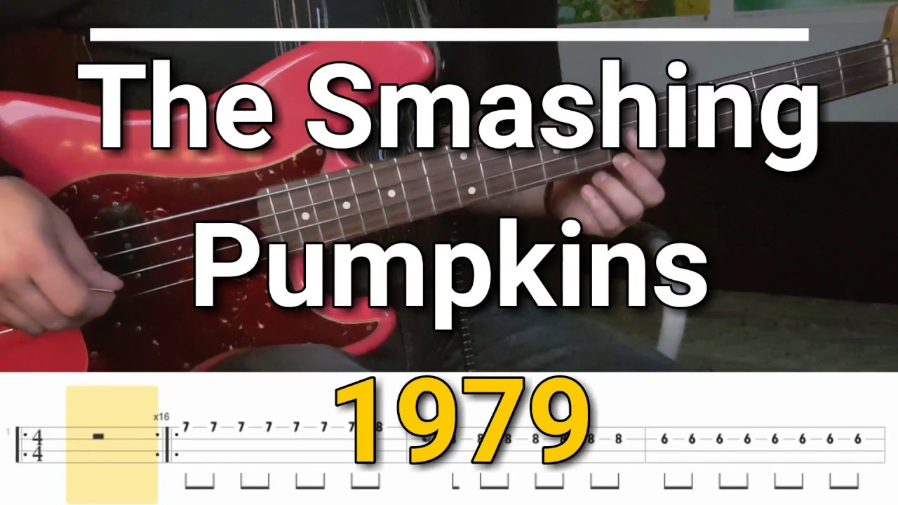 The Smashing Pumpkins - 1979 (Bass Cover) Tabs - YouTube