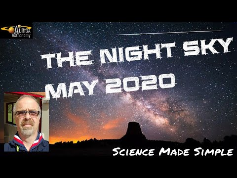 Night Sky May 2020  - What To See This Month.