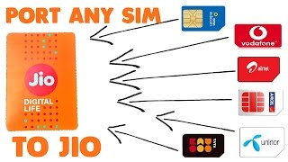 Port Any Number To Reliance Jio 4G Sim Network & Get Unlimited Data,Calls & SmsMNP PROCESS