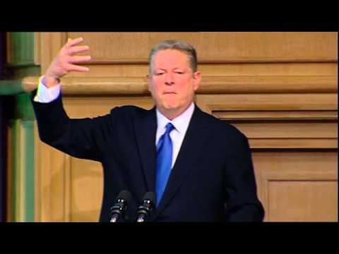 Al Gore, former Vice-President of the USA - Hunger - Nutrition - Climate Justice Conference, Dublin