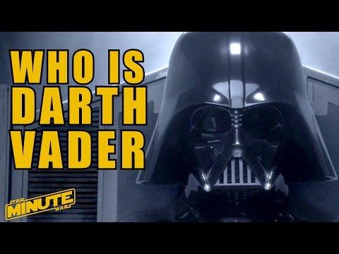 Darth Vader Character History (Canon) - Star Wars Minute