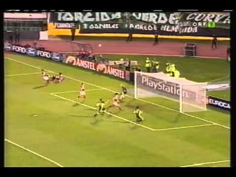 Sporting - 0 Spartak Moscow - 3 de 2000/2001