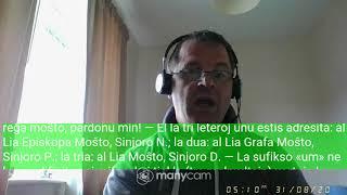 Fundamento De Esperanto Ekzerco 42   Sinjorino Um