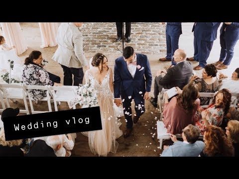 OUR WEDDING DAY VLOG