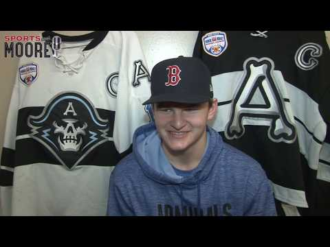 Tyler Cross - high scoring Admirals Dman