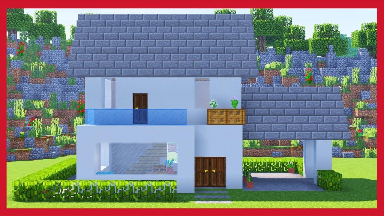 Minecraft come fare una villa youtube for Case belle su minecraft