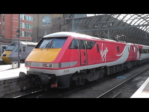 New Virgin Trains East Coast at London King