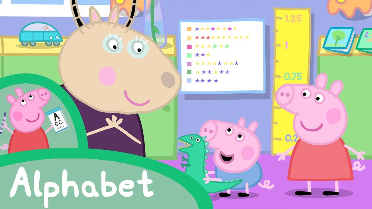 Peppa pig fran ais apprends l alphabet avec peppa youtube - Pepapig francais ...