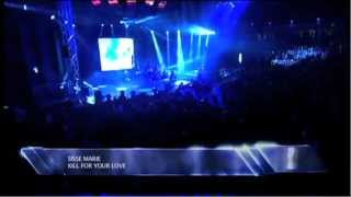 Sisse Marie - Dirty Hands & Kill For Your Love (LIVE) - Danish DeeJay Awards 2012