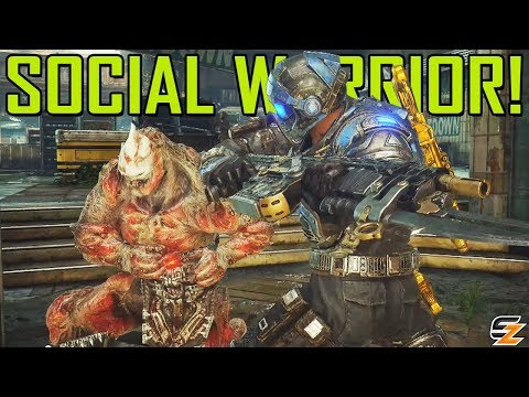 Social Warrior Activated! - Gears of War 4 Gameplay - Shadowz