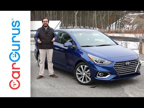 2018 Hyundai Accent | CarGurus Test Drive Review