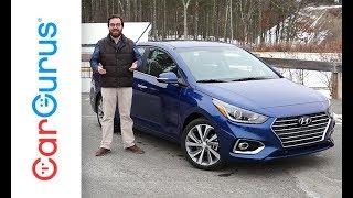 2018 Hyundai Accent CarGurus Test Drive Review смотреть