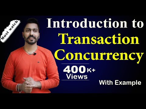 Lecture-56 | Introduction to Transaction Concurrency in HINDI | Database Management System