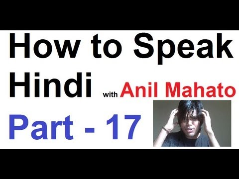 how to speak hindi fluently in 30 days