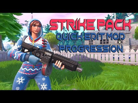 FORTNITE STRIKE PACK FPS DOMINATOR AIM ABUSE AND QUICK EDIT MOD (PS4, XBOX ONE)