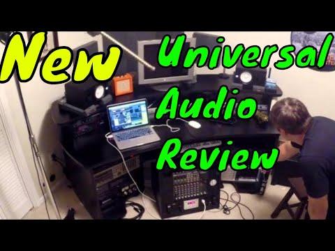 UNIVERSAL AUDIO- APOLLO QUAD. IN RECORDING STUDIO!