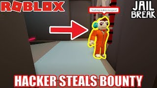 HACKER Stole my BOUNTY... | Roblox Jailbreak Highest Bounty Challenge