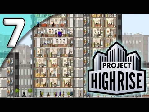 Project Highrise *Extended First Taste* - 7. Fancy Flats - Let's Play Project Highrise Gameplay