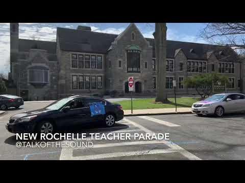 New Rochelle School Teacher Parade