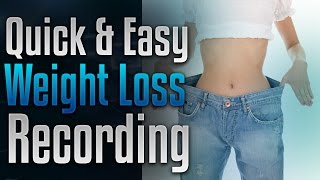 ???? Weight Loss Recording - Lose Weight Without Surgery by Simply Hypnotic